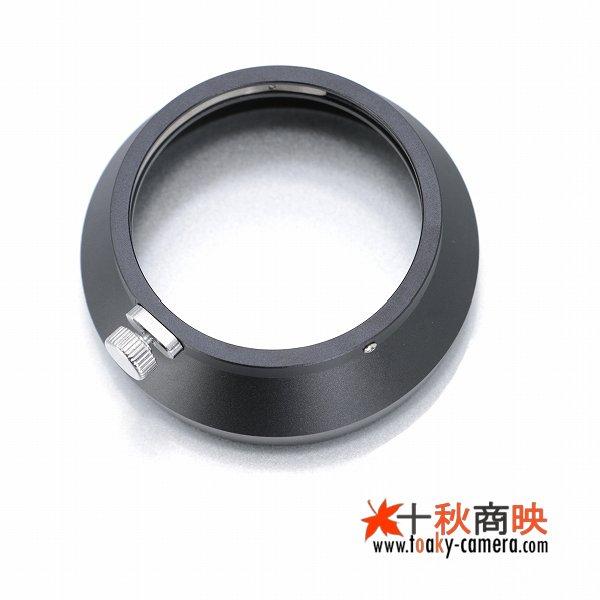 画像3: JJC製 オリンパス OLYMPUS M.ZUIKO DIGITAL ED 17mm F1.8 用 メタル レンズフード LH-48B 互換品 黒