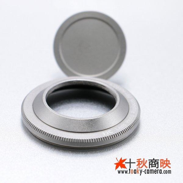 画像3: JJC製 ペンタックス Q PENTAX 01 8.5mm 用 メタルフード MH-RA40.5 互換品