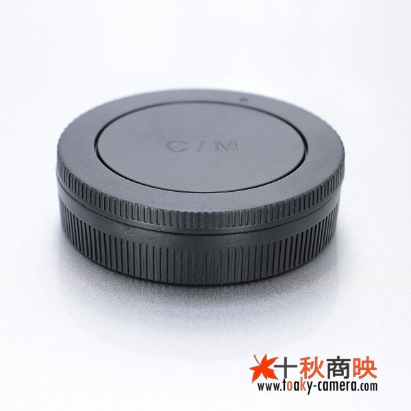 画像3: JJC製 キャノン EOS M M2  カメラ EF-M レンズ用 レンズリアキャップ ボディキャップ セット