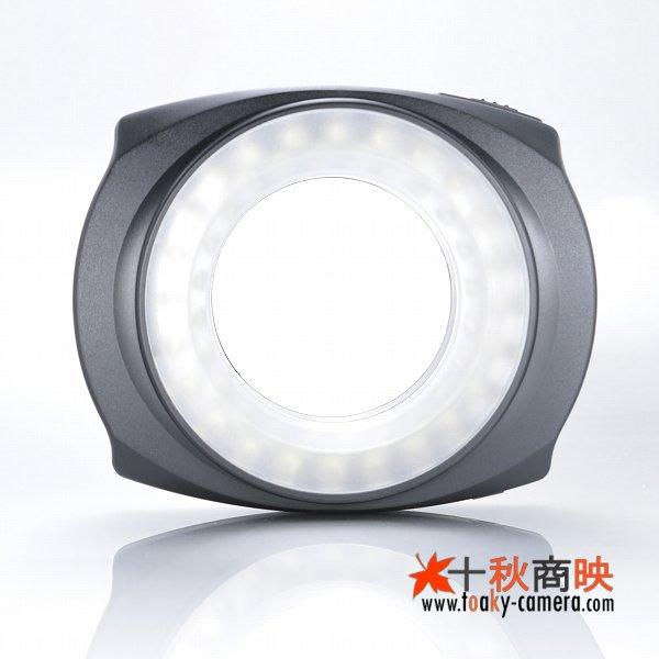 画像1: JJC製 48球 LED Macro Ring Light マクロリングライト カメラ底面取付仕様
