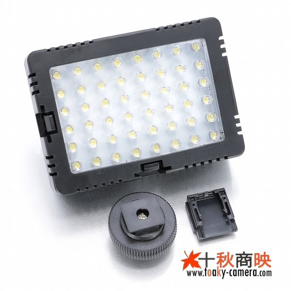 画像2: JJC製 48球 LED ビデオライト 消費電力5W 単三電池4本仕様