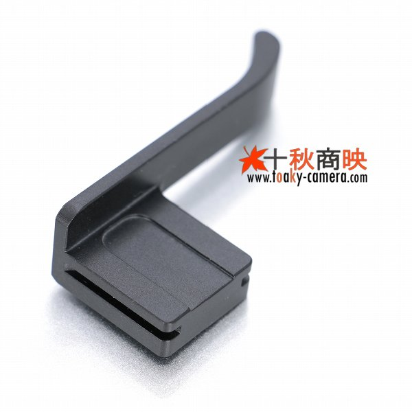 画像3: KIWIFOTOS製 FUJIFILM 富士フィルム X-PRO1 専用 サムグリップ (アルミ製 水準器付) TA-XPRO1 黒