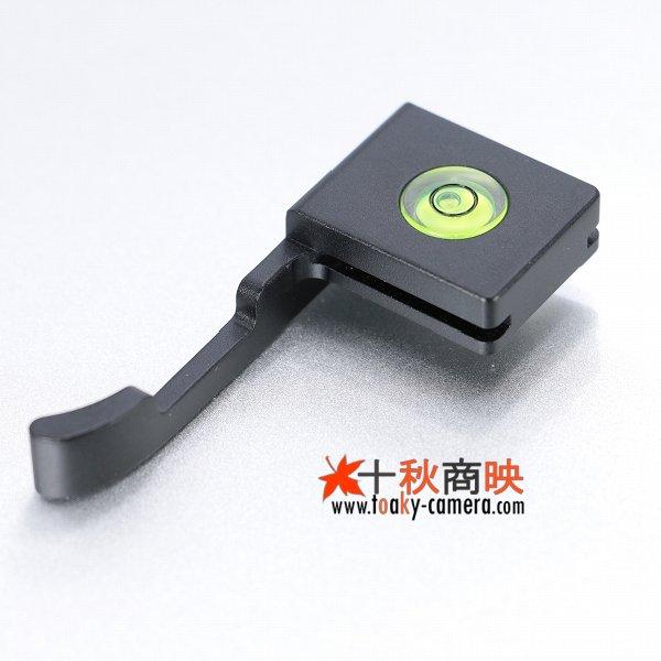 画像2: KIWIFOTOS製 Nikon ニコン COOLPIX A 専用 サムグリップ (アルミ製 水準器付) TA-NKAB 黒