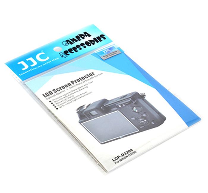 画像2: JJC製 ニコン Nikon D3200 専用 液晶保護セミハードシート