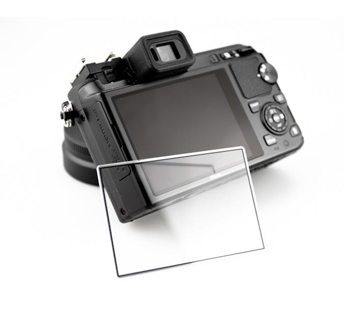 画像1: JJC製 ニコン 1 Nikon V1 J1 専用 液晶保護セミハードシート LCP-N1