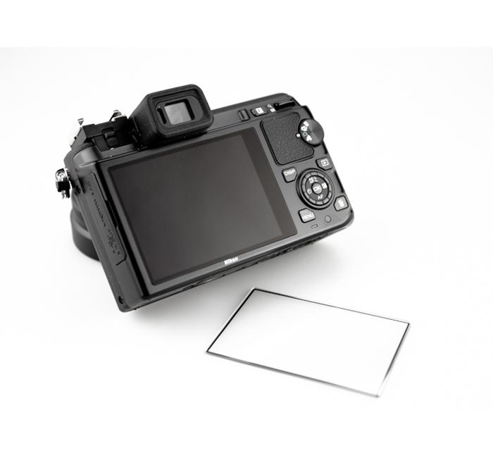 画像3: JJC製 ニコン 1 Nikon V1 J1 専用 液晶保護セミハードシート LCP-N1