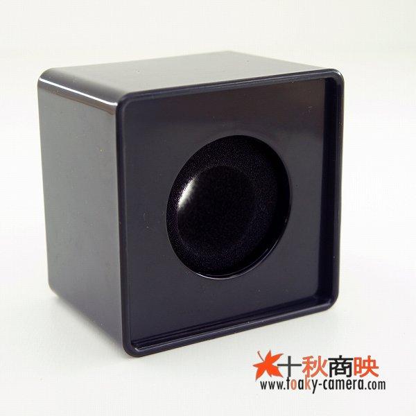 画像2: 業務用 現場取材 マイク用 放送局・チャンネルロゴ貼り 分解組立可能 四角型 クッション付 黒