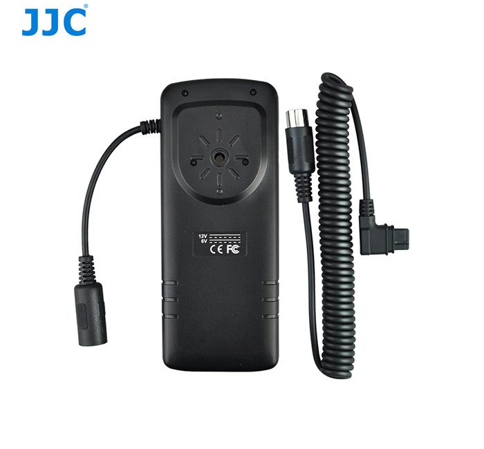 画像1: JJC製 キャノン ストロボ用外部電源 コンパクトバッテリーパック CP-E4 互換品 BP-CA1 (600EXII-RT 580EX II など対応)