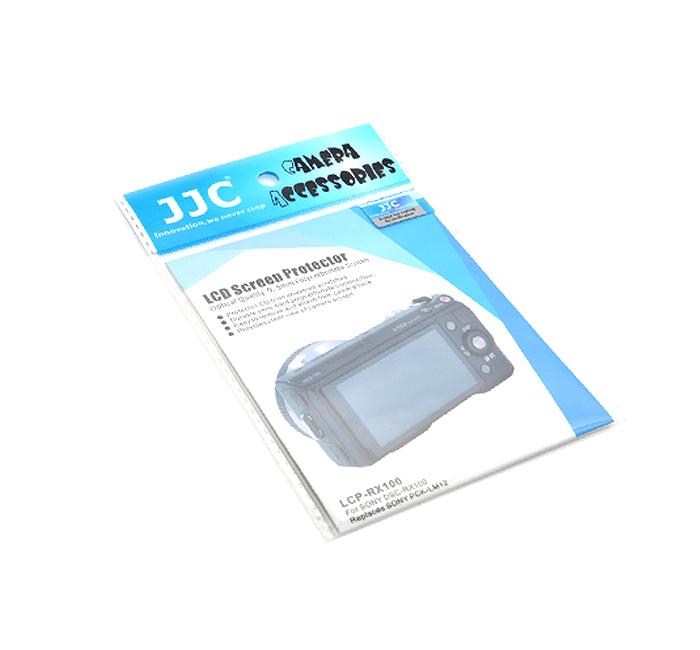 画像2: JJC製 SONY DSC-RX100 / RX100II / RX100III 専用 液晶保護セミハードシート PCK-LM12 互換品 LCP-RX100