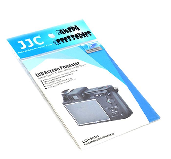 画像3: JJC製 キャノン Canon 5D MarkIII 専用 液晶LCD 保護 セミハードシート