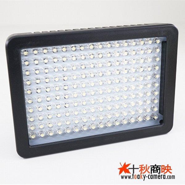画像1: WANSEN製 160球 LED ビデオライト リチウム/単三両対応 光量調整可