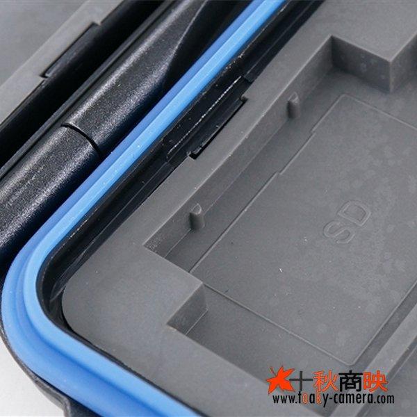 画像3: JJC製 CFカード 4枚 + SDカード 8枚 収納 メモリカード ケース 防水頑丈